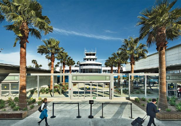 Long Beach Airport Landscape