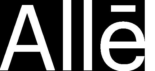 Alle Logo White